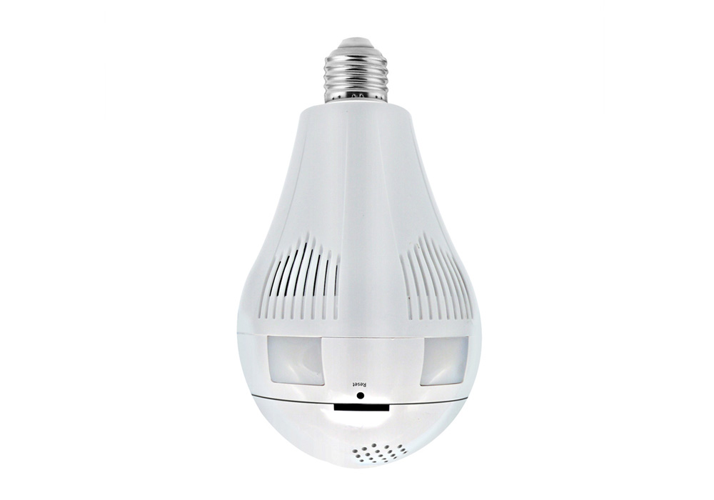 360° Wireless Light Bulb Camera